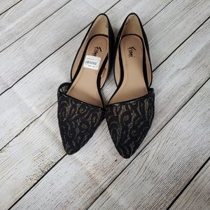 **3 for $30**  Black lace flats